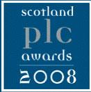 Scottish PLC Award logo